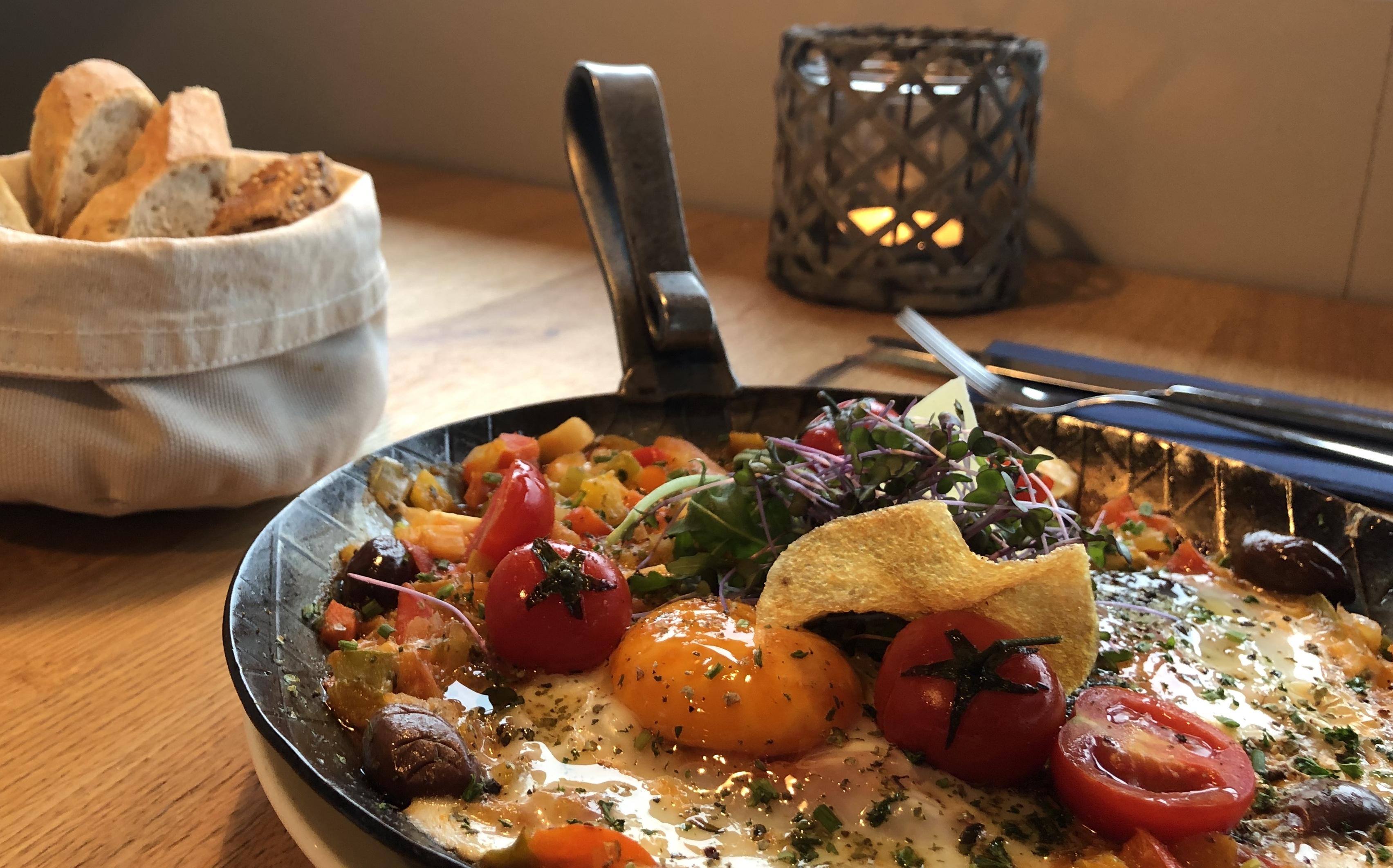 Shakshuka - traditionell israelisches Frühstück